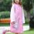 多美忆児童レセンコート男女児童ポンティカバンの位が厚いアニメ学生の赤ちゃんポンチーです。帽子のつばのピンクXLサイズです。