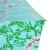 パラソル黒ゴム(UPS 50+)ポリエステル三つ折り超軽量パラソル晴雨兼用傘31839 E浅湖緑