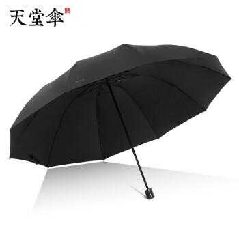 パラソル男女の傘のサイズが大きくなりました。三大傘、三大傘、日焼け止め、日傘、晴雨兼用傘、十骨傘、広告傘、企業傘カスタマイズLOGO【10骨黒ゴム日焼け止めバージョン】黒