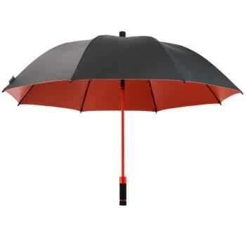 ドイツの嵐傘ゴルフ傘Birdiepalアウトドアの大きな柄の傘、風よけ防止の傘、日傘、紫外線対策の大きな傘W 209黒(UV 50+)