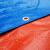 多美忆5メートル*8メートルの厚さのカラーをプラスして雨の日除けの布の雨棚の帆のPEを防ぐ防水の雨のテントの布のオレインカバーの貨車の日よけの雨を防ぐことを配置します。