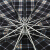 天堂の傘の特大な補強の三折の鋼の傘の3309 E格の470黒