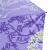 パラソル黒ゴム(UPS 50+)ポリエステル三つ折り超軽量パラソル晴雨兼用傘31839 E薄い紫色
