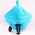 天堂透明の大きな帽子の縁の電動車のポンチの1湖の青い色の平均コード
