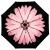 天堂傘フル遮光黒ジェル(UPS 50+)三折傘晴雨兼用傘31806 Eレベルアップ版浅妃粉