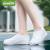 備美防水レインブーツカバー男女シリカゲル携帯可能な厚い耐摩耗性フロアレーンブセット雨靴カバー滑り止め灰色XL(42.45)