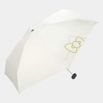 日本WPC日焼け止め傘紫外線対策女性晴雨兼用パラソル2020年モデル801-SA 01_OF KTホワイト