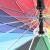 宝富利16 K*54 cmポリエステルストレート柄レインボー傘屋外プリント広告傘サンバイザーHTSM-HT 961