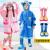 韩国KK树童子レイコントート韩国の女の子男の子の通気性ポンティカバンを持っている小学生子供のレセンコート小鹿レイトン青XL