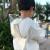 欣沁児童レインコート男の子と女の子のカバンの縁が大きいです。可愛い傘をたたむことができます。子供旅行ポンチ小学生雨具レモンイエローXLサイズです。