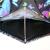 パラソル二重の傘の面が黒いゴムの55 cm*8骨の三つ折りのパラソル晴雨兼用傘31818 Eピンク