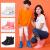 雨靴カバー防水雨の日の滑り止め防水靴カバー男女の滑り止めカバーは、厚くて耐摩耗性レインブーツカバーピンク【厚みがあり、リサイクル可能】36/37サイズの足をお勧めします。