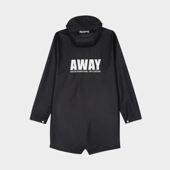 Subtle leレインコート男女ファッションブランドのラインナップファッションポンチ全身防護服防水コートAWAYシリーズ黒L